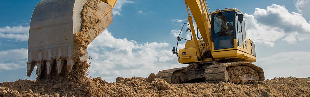 excavator banner